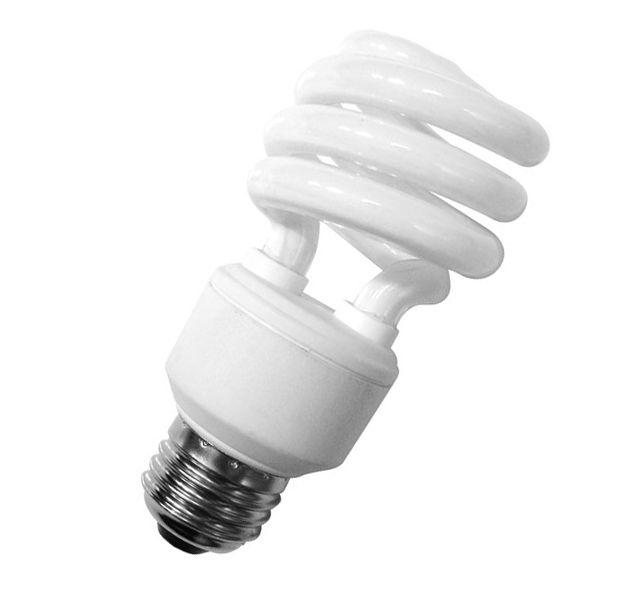 Lâmpada Econômica  20W Espiral 220V Branco Frio - E-27 G-LIGHT
