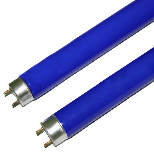 Lâmpada Fluorescente Tubular Azul 36W - Caixa com 25 peças