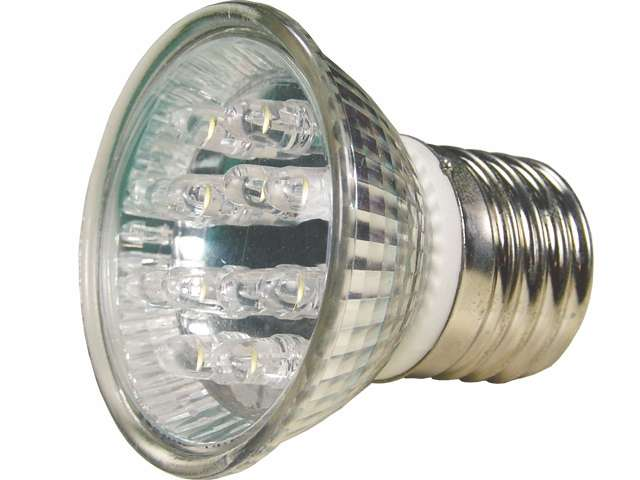 Lâmpada LED  1,3W Dicróica 20 LEDs Branco 220V