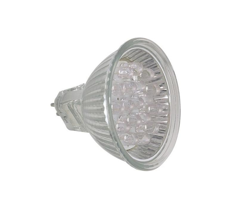 Lâmpada LED  1W Dicróica 18 LEDs JCDR Verde 127V