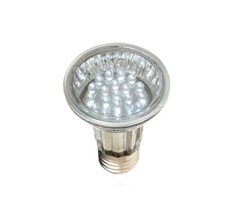 Lâmpada Par 20 Amarela LED 2,1W 30 LEDs 220V
