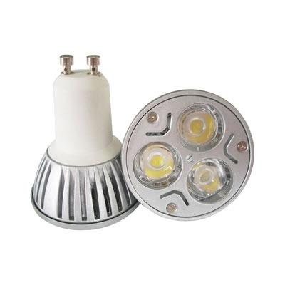 Lâmpada LED  3W Dicróica 3 LEDs GU10 3000K Bivolt