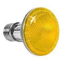Lâmpada Par 20 Amarela - Halógena Potência 50W