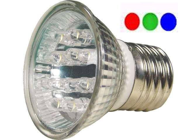 Lâmpada Par 20 RGB 30 LED 220V
