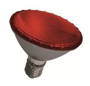 Lâmpada Par 30 Vermelha Halogena 75W
