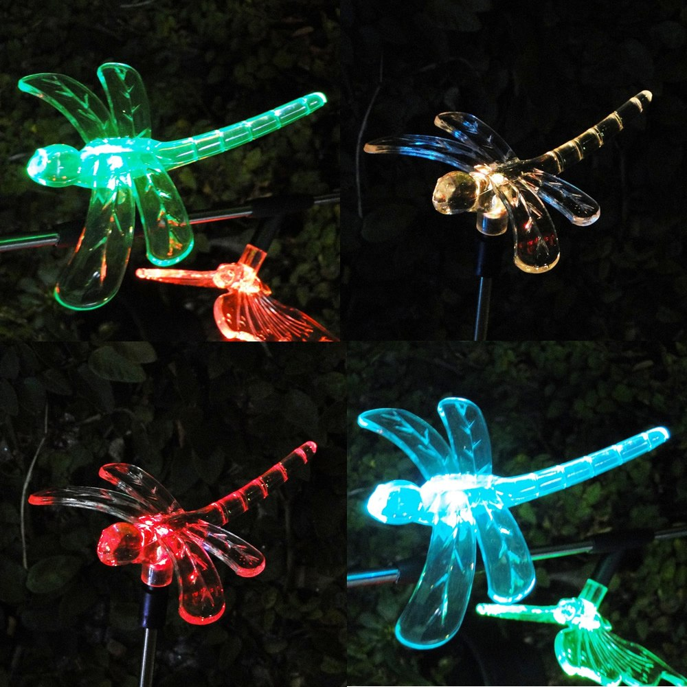 Luminária de Jardim Solar EC 21154 - Libelula