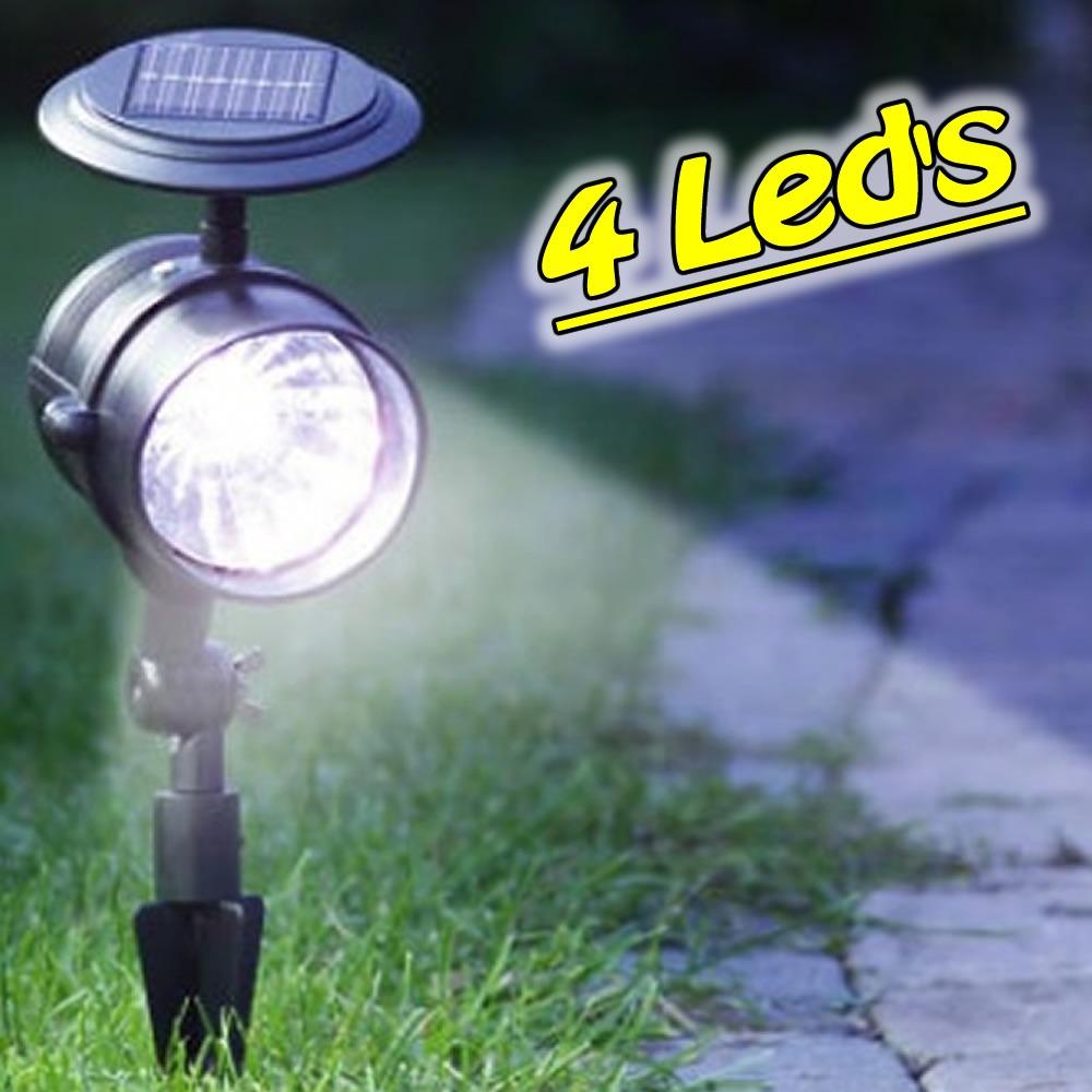 iluminacao para jardim solarDE JARDIM SOLAR EC 23168 – SPOT REDONDO