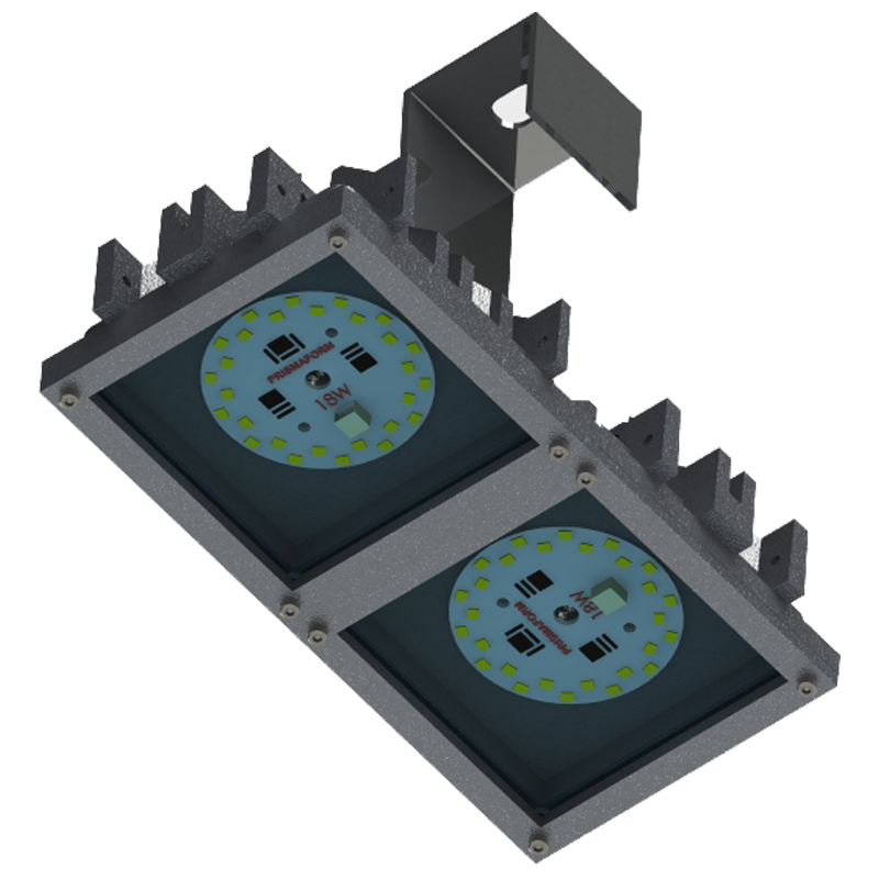 Luminária Industrial Led  36W Modular