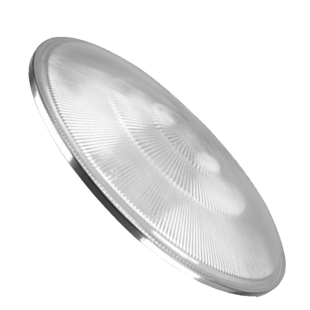 Tampa Lente Luminária Prismática 16 Pol com Aro Moldada Baixa