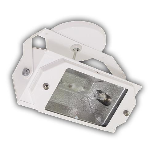 Luminária Projetor de Sobrepor Dirigível em Aço - Branco R-742