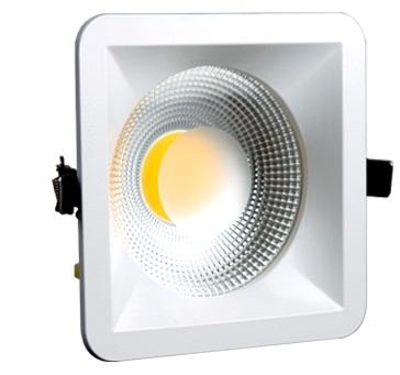 Luminária Spot FLC de Embutir Quadrada LED 15W - Bivolt
