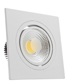 Luminária Spot FLC de Embutir Quadrada LED 5W - Bivolt