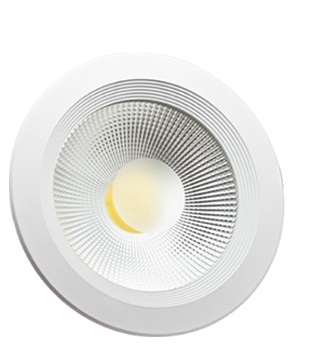 Luminária Spot Led 15W 6400K Embutir Redonda - Bivolt FLC