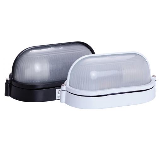 Luminária tipo Tartaruga com Visor de Alumínio - IP54