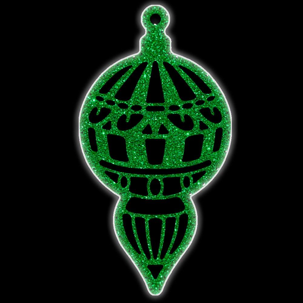 Bola de Natal  80 cm Gigante Iluminado LED Decoração para Dia e Noite - PG04-DN