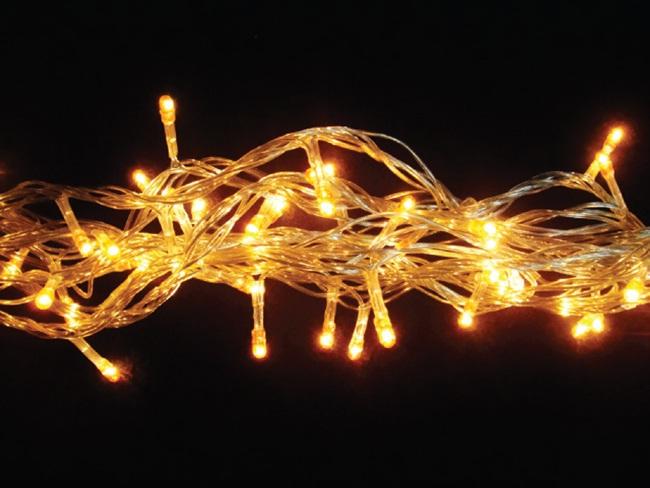 Pisca - Pisca 100 LEDs Amarelo com 10,00 Metros 220V ( PISCA 8 FUNÇÕES ) - REF 1138