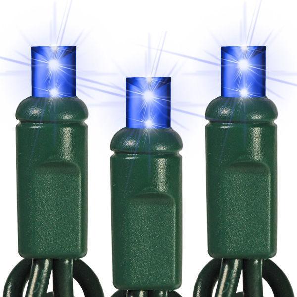 Pisca - Pisca 100 LEDs Azul com 10,00 Metros 127V ( PISCA 8 FUNÇÕES ) - REF 1355
