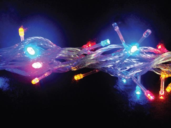 Pisca - Pisca 100 LEDs Colorido com 10,00 Metros 127V ( PISCA 8 FUNÇÕES ) - REF 1041