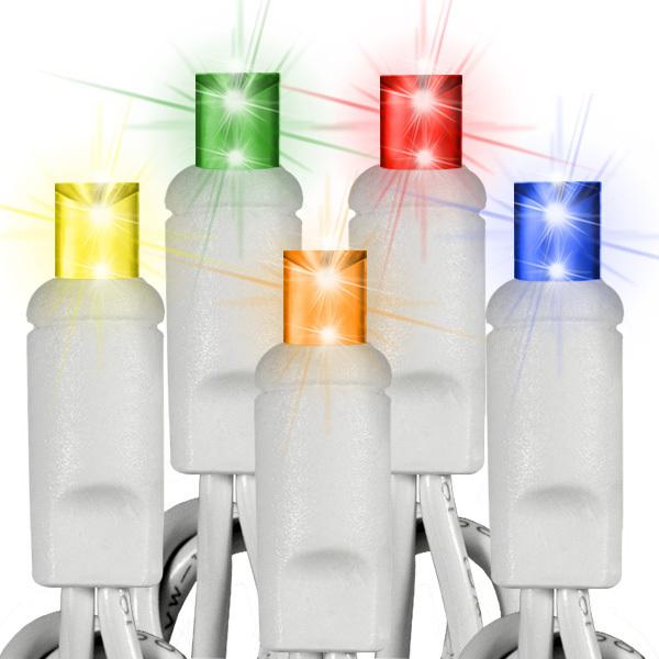 Pisca - Pisca 100 Micro Lâmpadas Colorido com 5,50 Metros 127V ( PISCA 4 FUNÇÕES ) - REF 1024