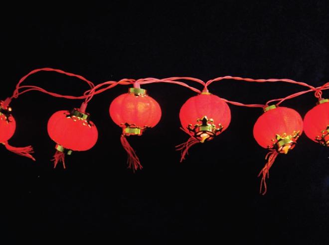 Pisca - Pisca  20 LEDS Lanterna Chinesa com 3,60 Metros 127V ( PISCA ) - REF 1832
