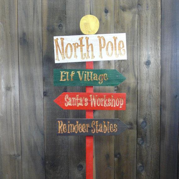Poste Direcional Polo Norte - PN-172-DN - Tam. 1,60  x 0,80 Metros