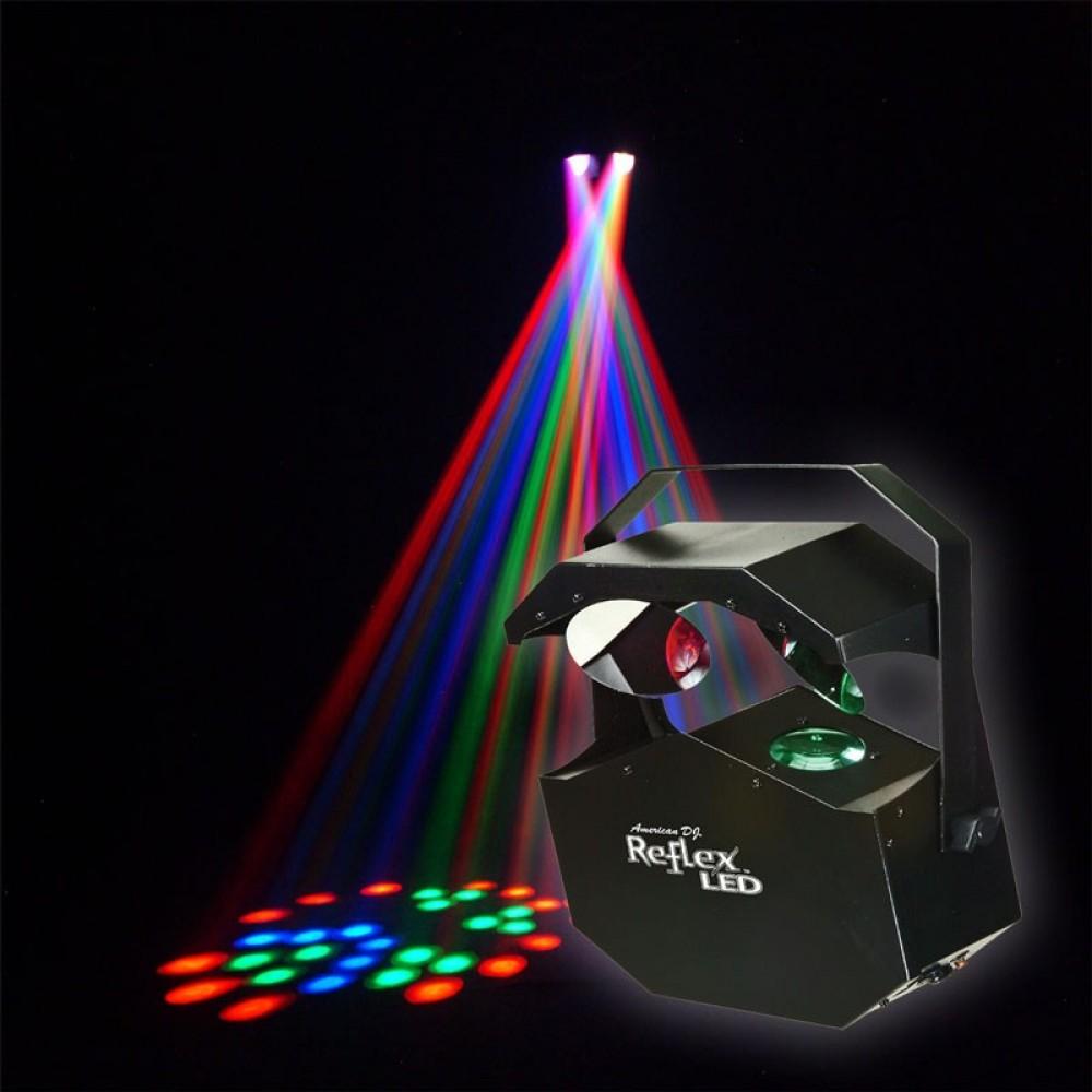 Projetor Multi Raios Reflex RGB - American DJ