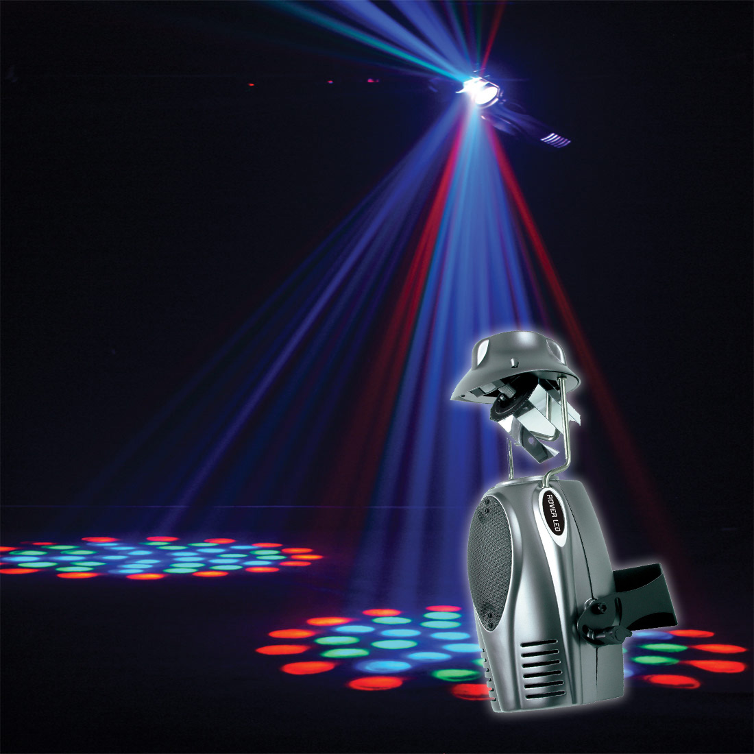 Projetor Multi Raios Rover LED RGB - American DJ