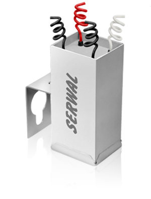 Reator Vapor Metálico 2000W - Uso Externo - 220V HPI (Acende Lâmpadas padrão Phillips)