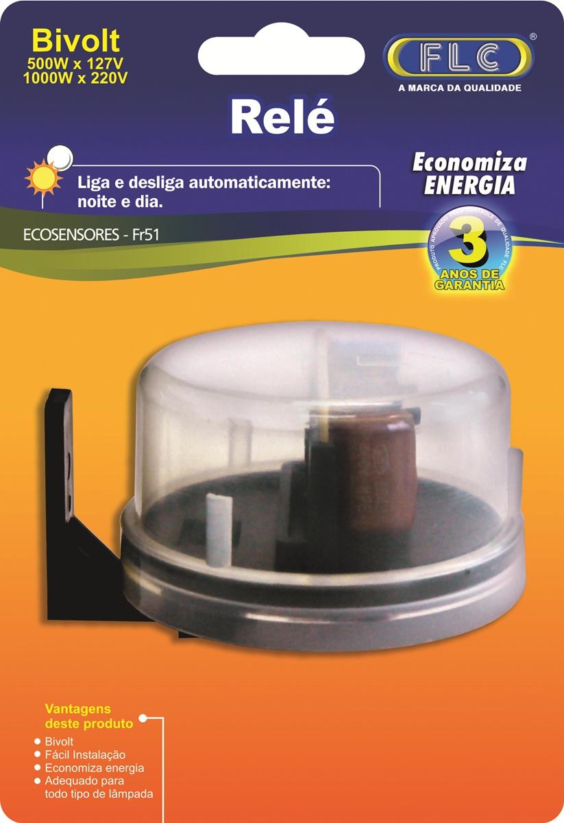 Rele Fotocelula Automatico Externo - FLC - FR 51 - Simples