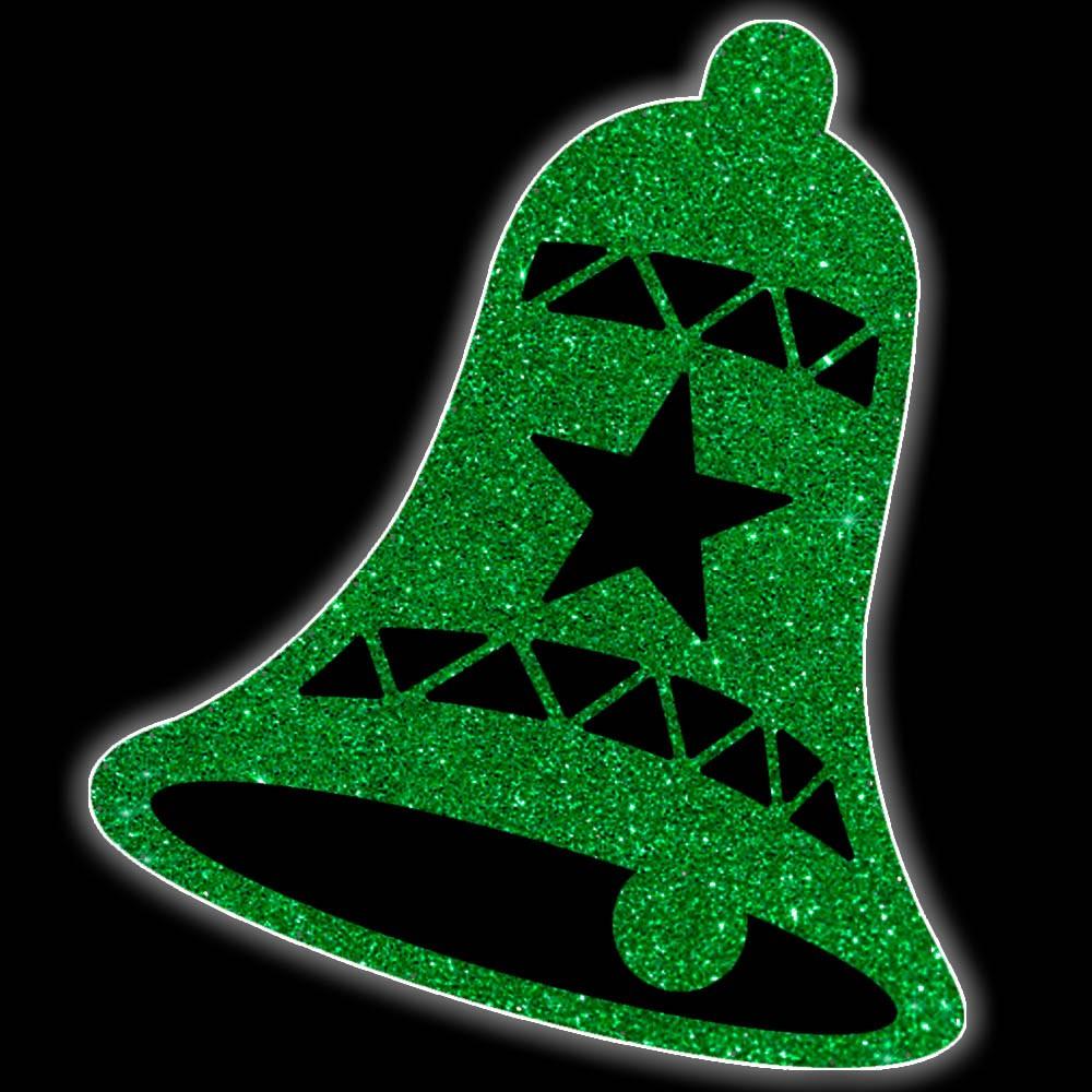 Decoração Poste - BP-058-DN/A Sino Bell Light Decoração de Natal Dia e Noite