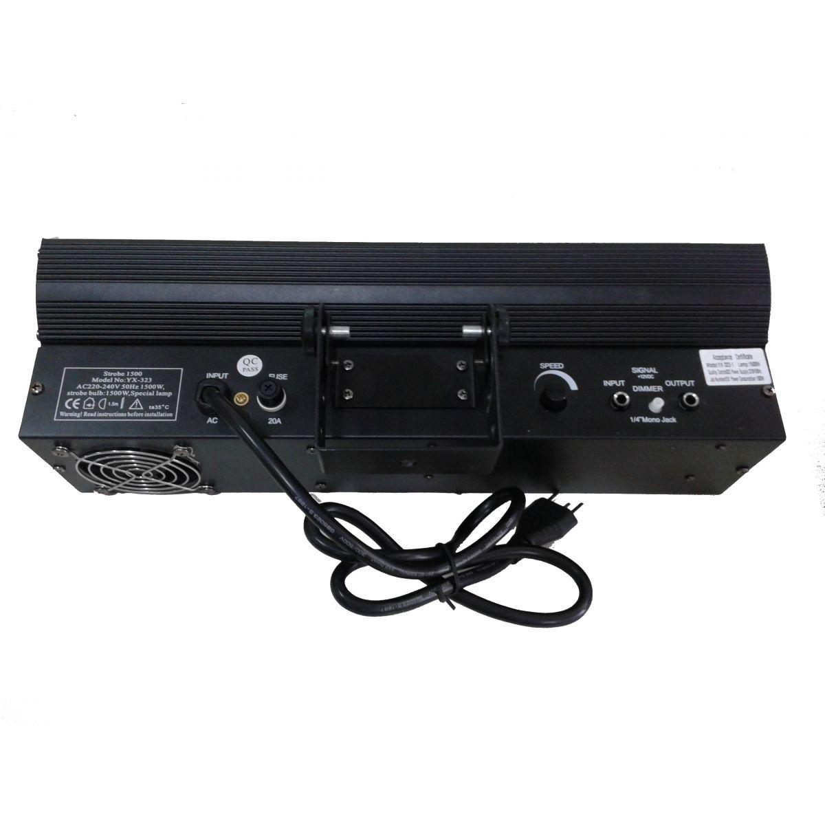 Strobo 1500W 220V - YX-323-1 - AH LIGHT