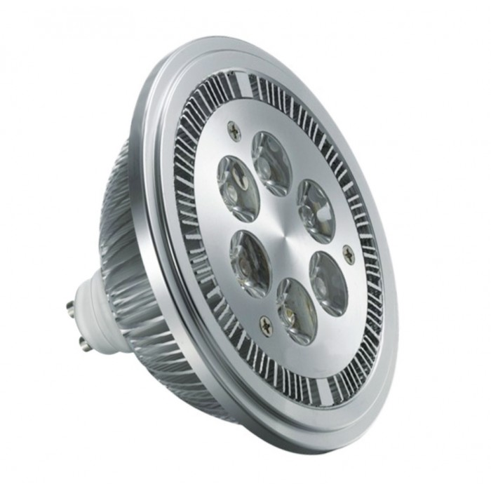 Super Led AR111 6W Chrome Bivolt