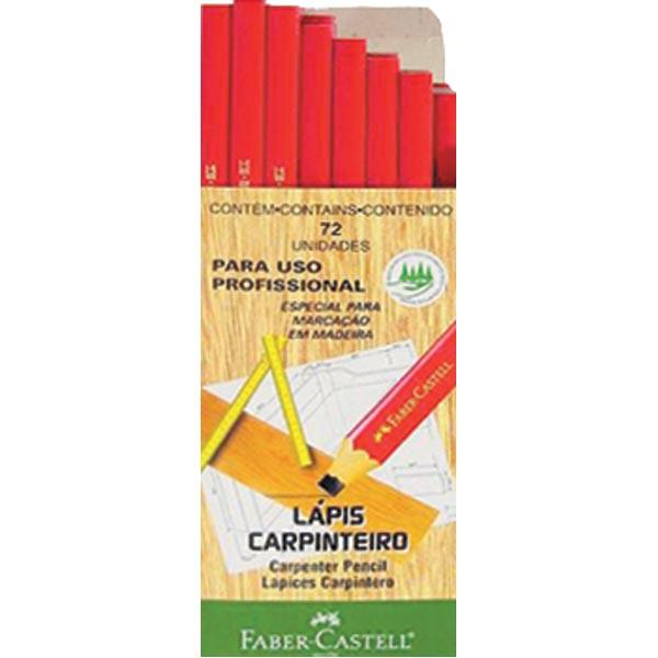 LAPIS CARPINT.FABER CASTELL C/72
