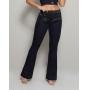 Calça Flare Modeladora com Cinta Set Jeans