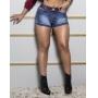 Short Jeans Empina Bumbum Laser c/ Cinto Set Jeans