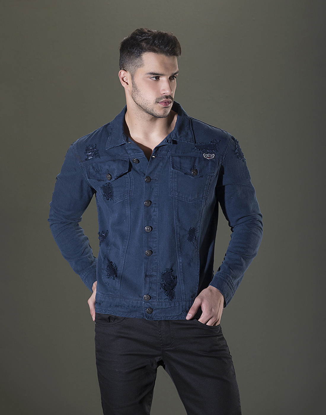 Jaqueta Jeans Style Sallo