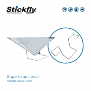 Stickfly V-10 BlackLight + Suporte