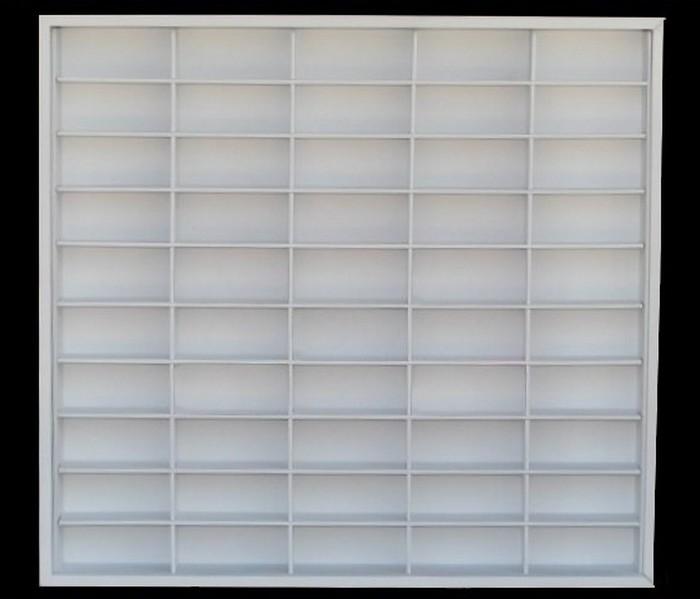 #50 DIECAST DISPLAY CASE - 1:64 [Branco]  - Hobby Lobby CollectorStore