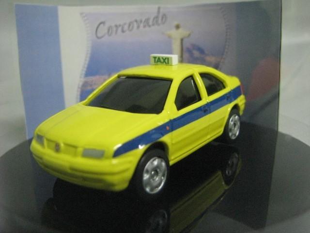Miniatura Customizada - VW Bora Taxi do Rio de Janeiro