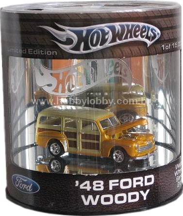Hot Wheels 100% - Ford Woody 1948  - Hobby Lobby CollectorStore