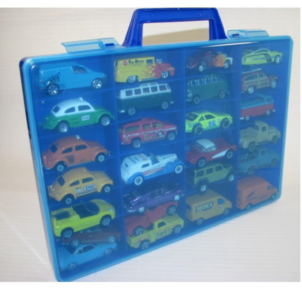 Maleta para 24/28 Miniaturas - escala 1:64  - Hobby Lobby CollectorStore