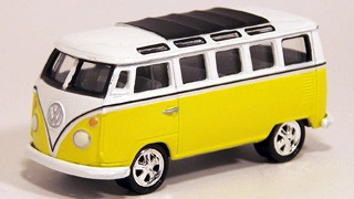 VW 1965 Samba Bus  - Hobby Lobby CollectorStore