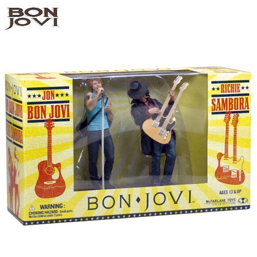McFARLANE TOYS - Jon Bon Jovi & Richie Sambora 17cm