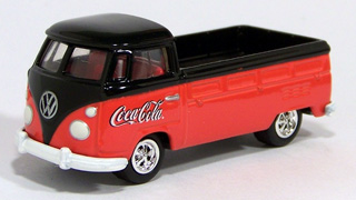 Johnny Lightning - VW 1964 Type 2 Pickup - Coca Cola