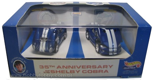 Hot Wheels 100% - Collector Set - 35th Anniversary of the Shelby Cobra