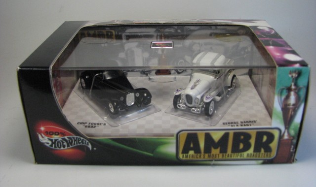 Hot Wheels 100% - Collector Set - America´s Most Beautiful Roadsters (AMBR)  - Hobby Lobby CollectorStore