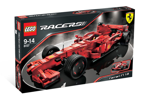 Lego Racers - Ferrari F1 1:9 - Ref:8157  - Hobby Lobby CollectorStore