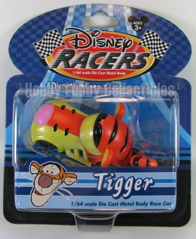 Disney Racers - Tigger Die Cast Car