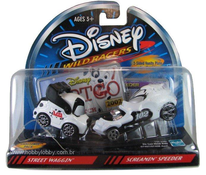 Disney Racers - StreetWaggin´ vs Sreamin´Speeder  - Hobby Lobby CollectorStore