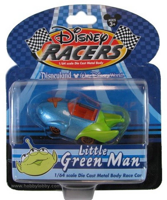 Disney Racers - Little Green Man  - Hobby Lobby CollectorStore